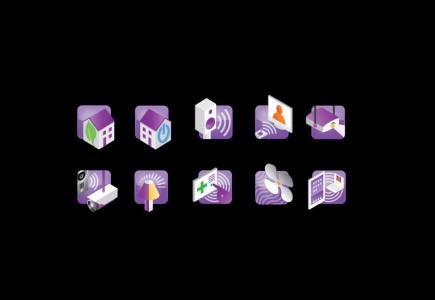 Joseph Daley - Icon design for systems integration company
