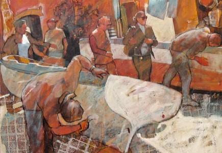 Paul Joseph-Crank - Boatmen, Naples