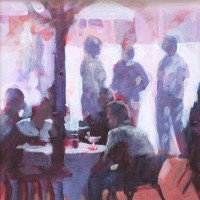 Paul Joseph-Crank - A late lunch, Cafe Europa