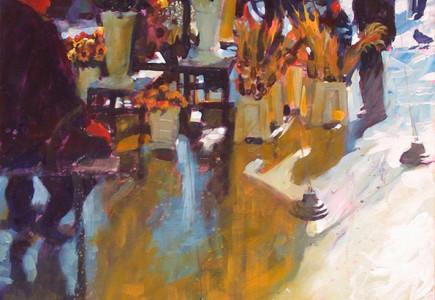 Paul Joseph-Crank - Flower Sellers, Krakow