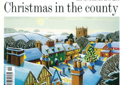 Sean Hogan - Editorial illustration for Suffolk Magazine