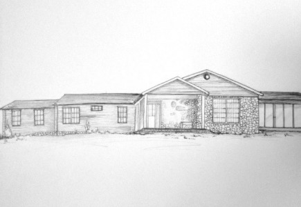 Rachel Thompson illustrator - Ranch House