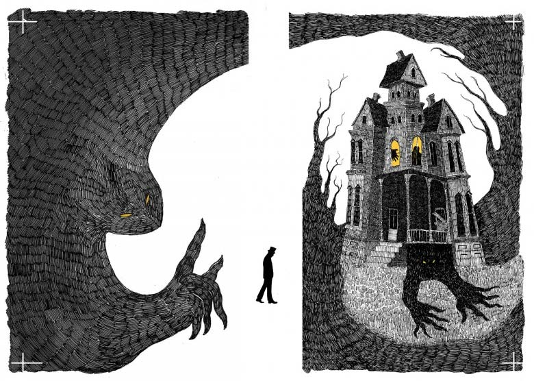 2105 Ghost Stories Book Illustration Competition On