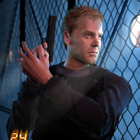 Jason Riley - Jack Bauer, Cover Art for 24 The Game