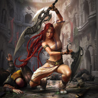 Jason Riley - Asian box art for Heavenly Sword