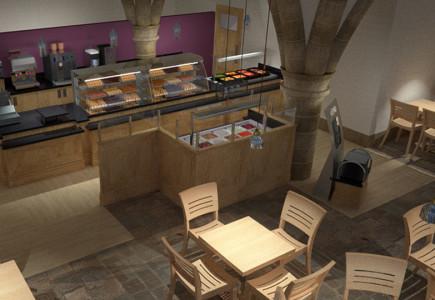 Jono Mawford - Café area Durham Cathedral