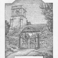 Sean Hogan - Lidgate Church - Cambridge Illustrators