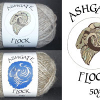 Sean Hogan Ashgate Flock label illustration