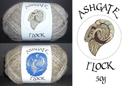 Sean Hogan Ashgate Flock label illustration