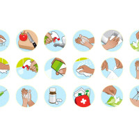 Joseph Daley - Icon design and illustration for Dettol household products
