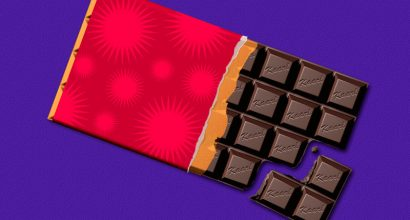 Kaarl Hollis - Digital illustration of chocolate bar