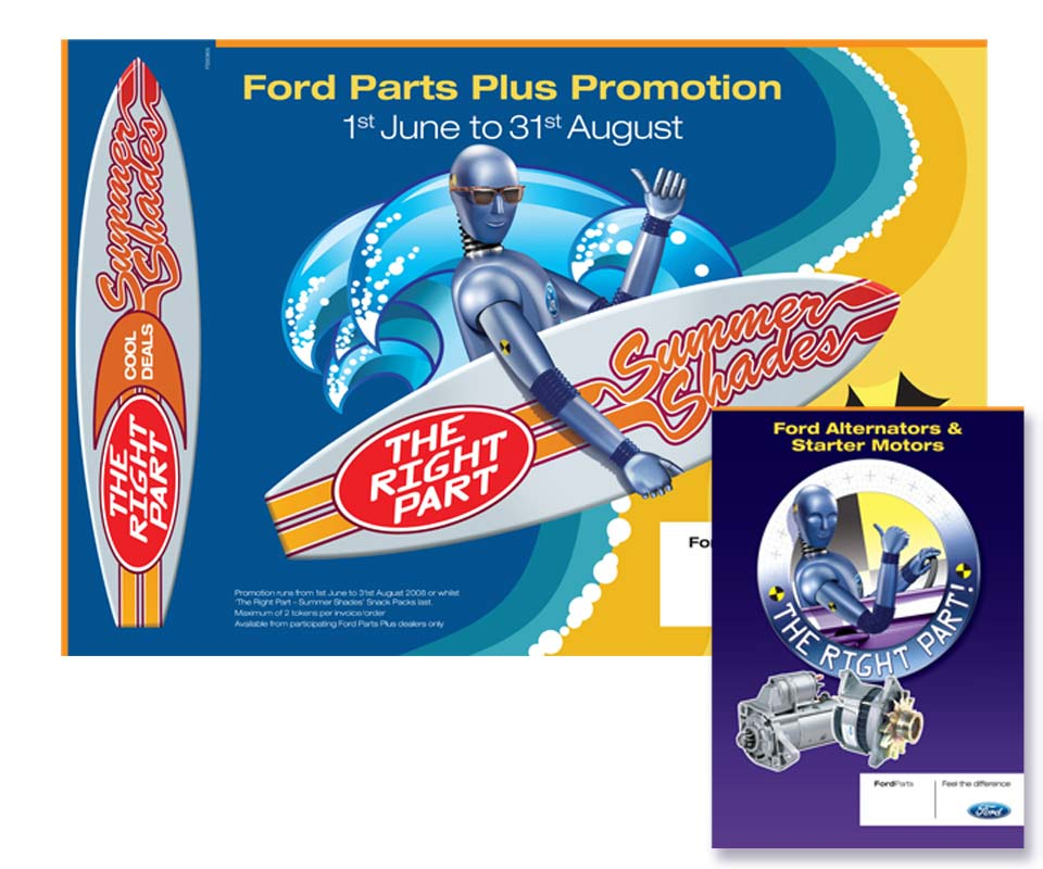 Mark Taylor - Illustrator - Ford marketing