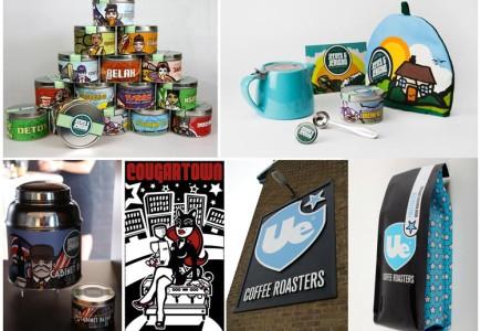 Nic Brennan - J & J and Ue coffee branding