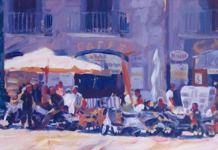 Paul Joseph-Crank - Cafelife, Naples