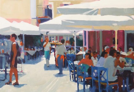 Paul Joseph-Crank - Harbour Cafe, Fiskado