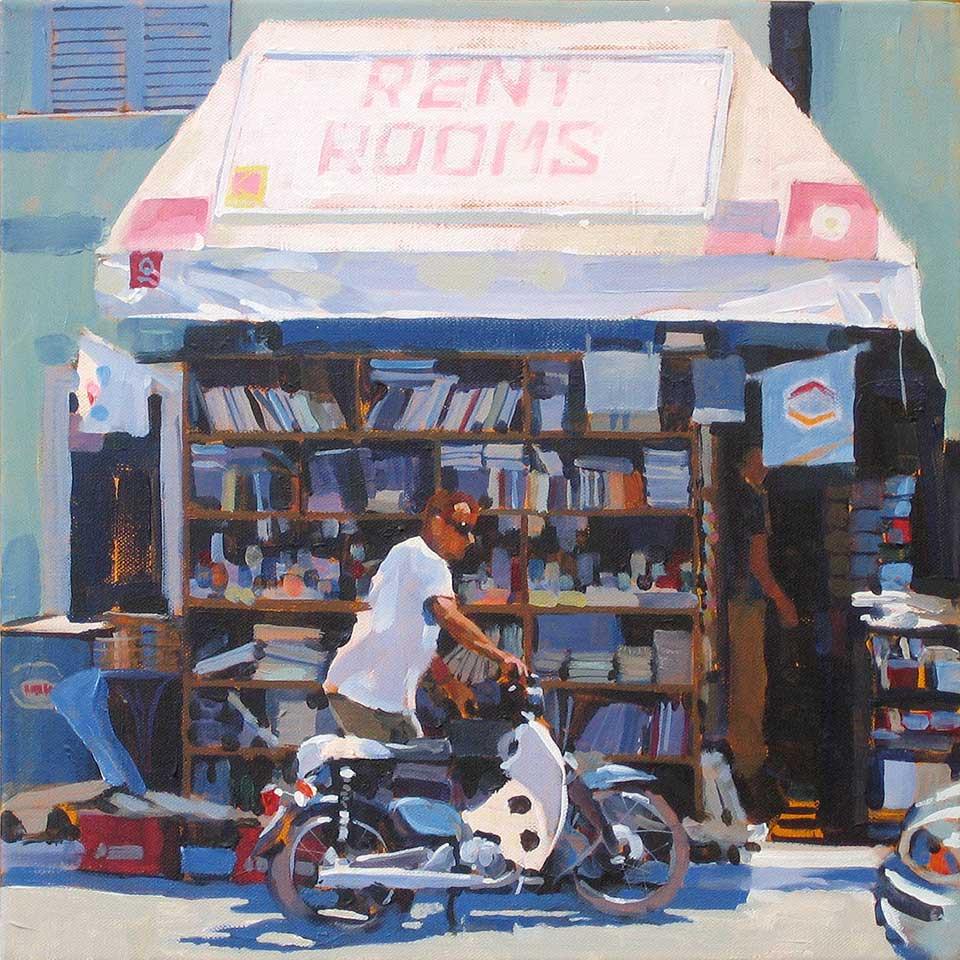 Paul Joseph-Crank – Illustrator - Rooms for Rent, Crete