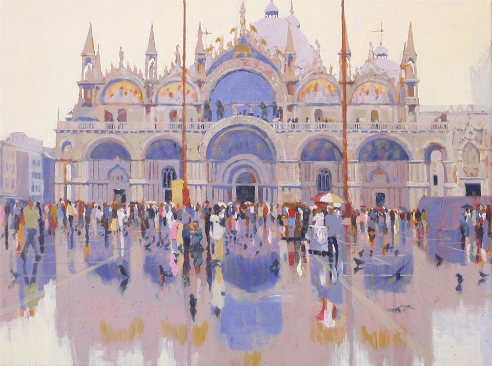 Paul Joseph-Crank – Illustrator - St Marks, Venice