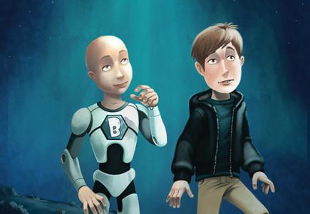 Russ Daff - Illustrator - Boffin Brainchild book cover