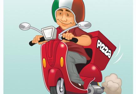 Russ Daff - Pizza boy