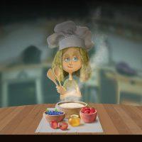 Joel Langlois - Illustrator - Goldilocks Porridge Recipes