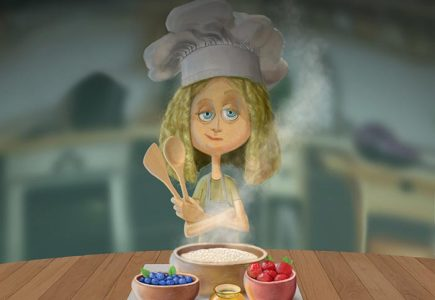 Joel Langlois - Illustrator - Goldilocks Porridge Recipes