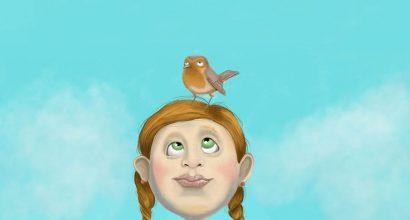 Joel Langlois - Illustrator - Robin on my mind