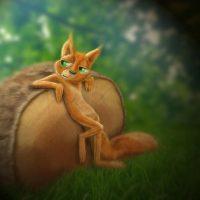 Joel Langlois - Illustrator - Squirrel 2