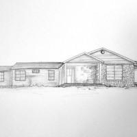 Rachel Thompson illustrator - Ranch House