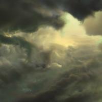 Jason Riley - Toxic Sky Cloud Valley Concept for Killzone Mercenary