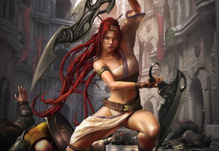 Jason Riley - Asian box art for Heavenly Sword