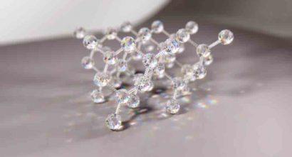 Jon Heras - molecular structure of diamond