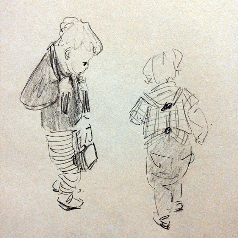 Naomi Chamberlain - Cambridge Illustrators - Exploring