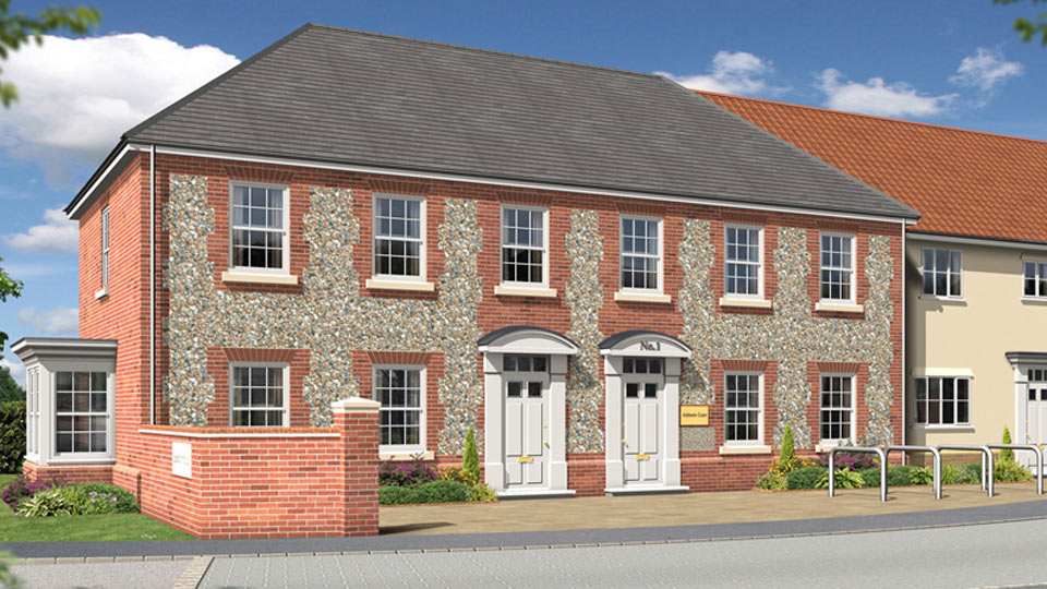 Jono Mawford - roposed new offices, Abbots Gate, Bury St Edmunds