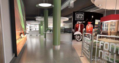 Jono Mawford - Café area proposal for Agusta Westland