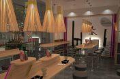 Jono Mawford - Sushi restaurant, Regents Park