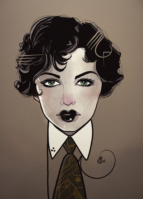 Nic Brennan - Illustrator - Jazz Age
