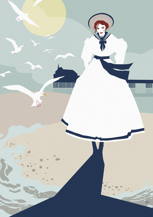 Nic Brennan - Illustrator - Seaside
