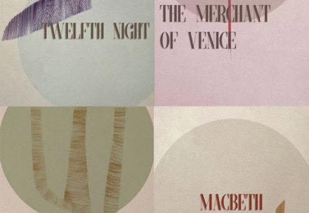 Naomi Chamberlain - Canterbury Shakespeare Festival posters - 2016