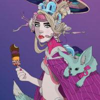 Cyber Lolly - Nic Brennan - Cambridge Illustrators