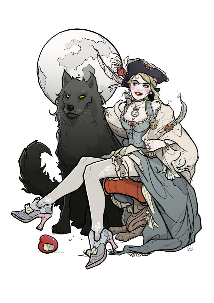 She Wolf - Nic Brennan - Cambridge Illustrators