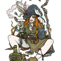 Nic Brennan – Witch and Cat