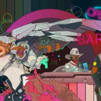 Bar - Nic Brennan - Cambridge Illustrators