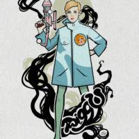 Twiggy - Nic Brennan - Cambridge Illustrators