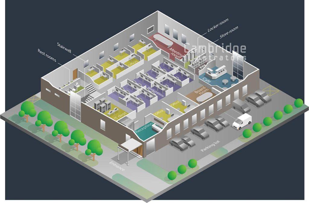 Joseph Daley - office facility - Cambridge Illustrators