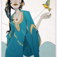 Nic Brennan - Girl and Bird