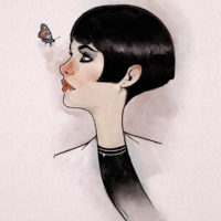 Nic Brennan - Girl and Butterfly