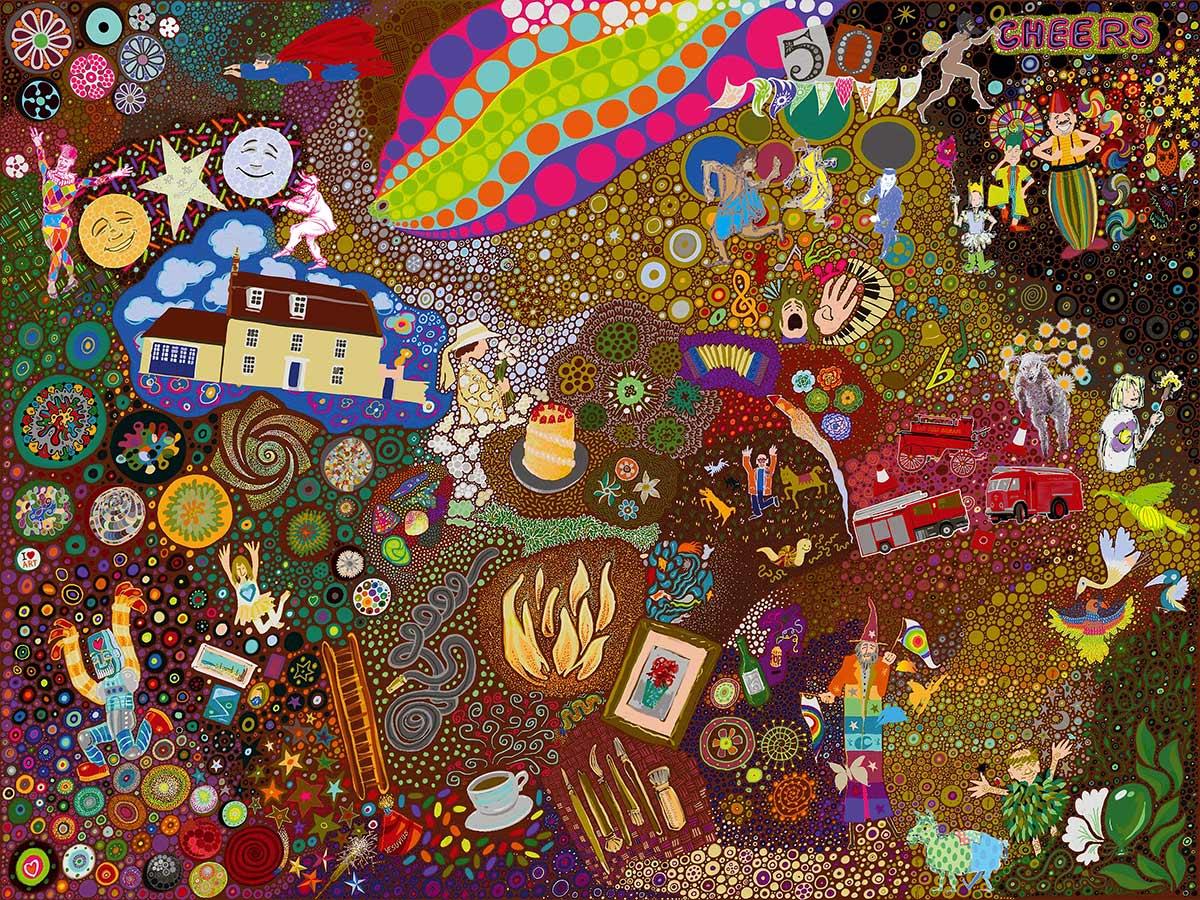 Cambridge Illustrators - Paul Margiotta - Dream of Celebration'