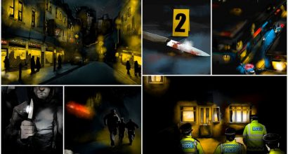Nik Brennan - Scenes from an internal animation for the Met Police about knife crime